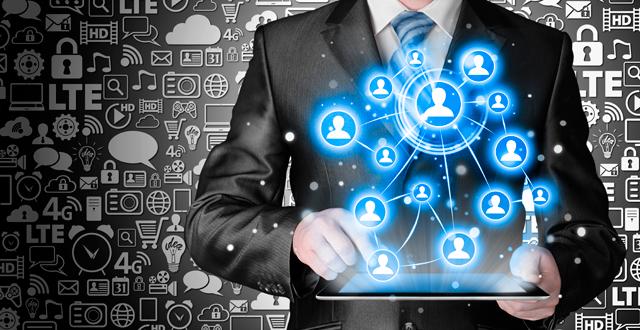 Disrupción de negocios con redes empresariales