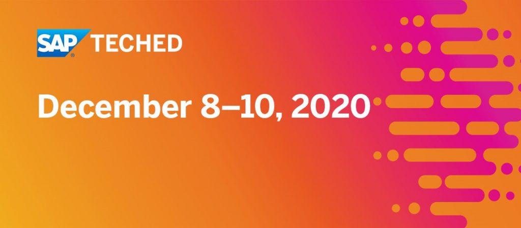 Falta poco para el SAP TechED 2020